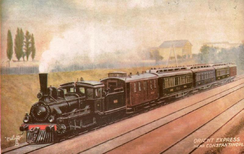 Orient Express - wymarzona sceneria konfliktu (źródło: domena publiczna).