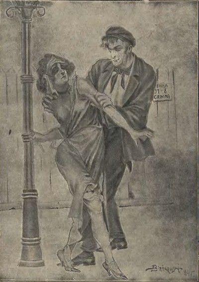 Codzienność prostytutki: alkohol i przemoc (źródło: domena publiczna).