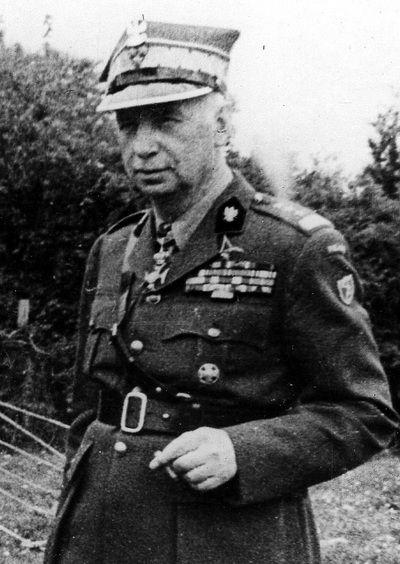 Po śmierci generała Władysława Sikorskiego Naczelnym Wodzem został mianowany generał Kazimierz Sosnkowski (źródło: domena publiczna).