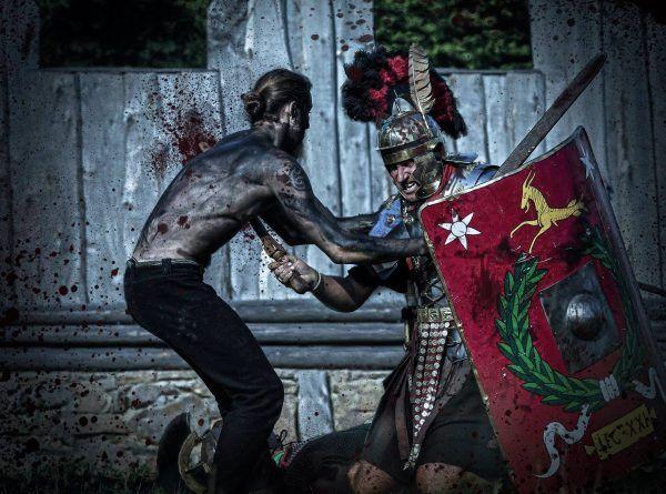 Czy brutalność była elementem charakteru narodowego Rzymian? (fot. Legio XXI Rapax).