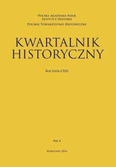 """Materiał powstał w oparciu o artykuł naukowy opublikowany w periodyku """"Kwartalnik Historyczny""""."""