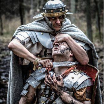 Życie legionisty nie było łatwe. Co dopiero na krańcu świata, na terenie wrogiego państwa (fot. Robert Łakuta, Legio XXI Rapax).