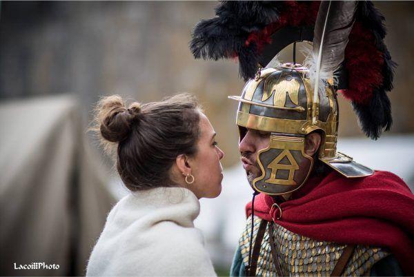 """""""I pamiętaj, tylko nie przesadzaj z gwałtami"""" (fot. Robert Łakuta, Legio XXI Rapax)."""