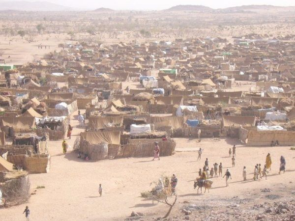 Obóz dla uchodźców. Podobny chciała zwiedzić i sfotografować Sylvia Rafael.