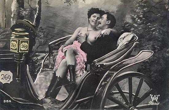 Realia życia przytłaczającej większości prostytutek z przełomu XIX i XX w. wyglądały diametralnie inaczej niż na załączonym obrazku (źródło; domena publiczna).