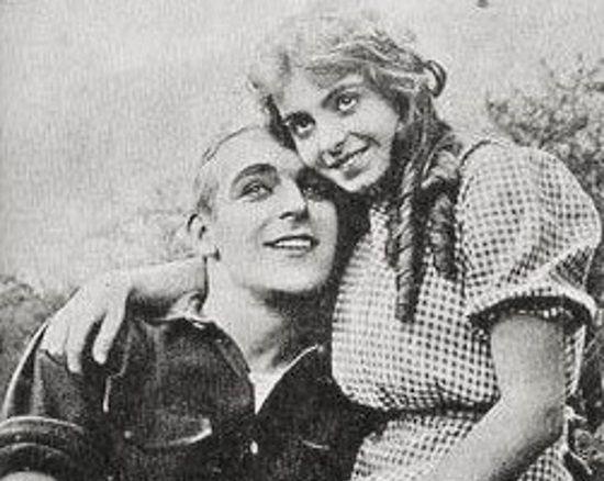 Wallace Reid i  Dorothy Davenport w 1912 roku.