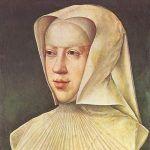 Małgorzata Austriaczka zdecydowanie nie miała łatwego życia. Tutaj nasza bohaterka na obrazie Bernaerda van Orleya (źródło: domena publiczna).