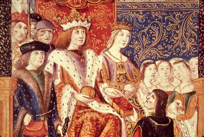 Izabela Kastylijska i Ferdynand Aragoński nie posłuchali swoich doradców i nie rozdzielili młodych małżonków (źródło: domena publiczna).