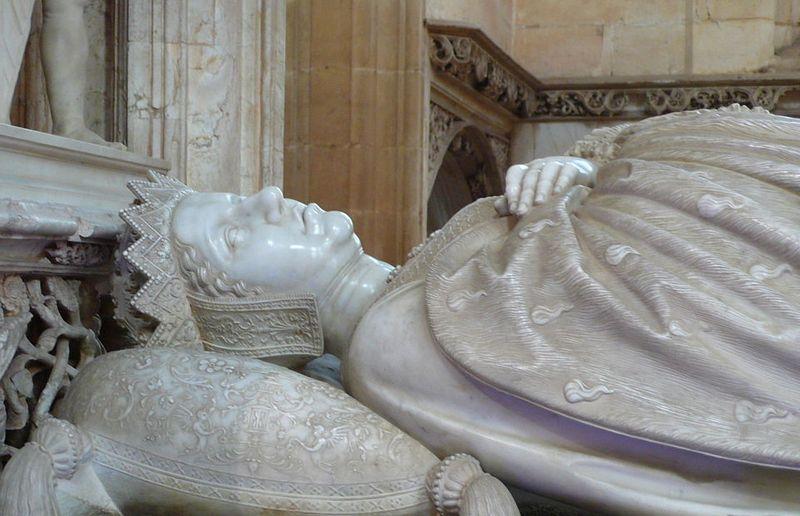 Małgorzata zmarła w wieku zaledwie 50 lat. Pochowano ją w Brugii jednak w 1532 r. jej zwłoki przeniesiono do Brou, gdzie spoczęła obok swojego trzeciego męża (fot. Welleschik; lic. CC BY-SA 3.0).