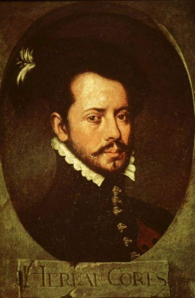 Hernán Cortés i jego podkomendni nie przebierali w środkach (portret anonimowego autorstwa, prawdopodobnie z 1. połowy XVI w.)