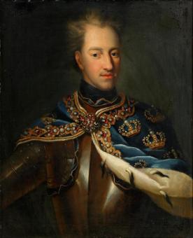 Młody Karol XII nie przebierał w środkach, by zrealizować swoje ambitne plany (portret anonimowego autorstwa, XVIII wiek).
