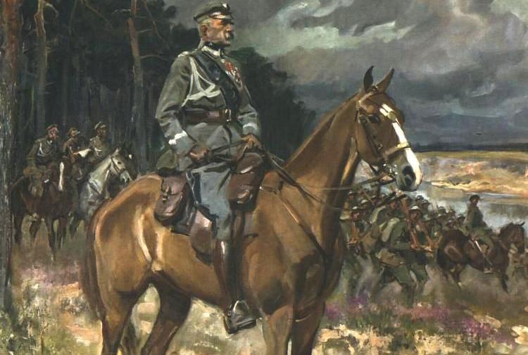 Co prawda Józef Piłsudski ostatecznie zwyciężył bolszewików, jednak zmarnowany miesiąc bez dwóch zdań zaważyły na późniejszych losach II RP (źródło: domena publiczna).