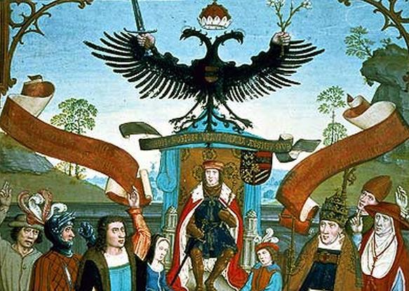 Cesarza Maksymiliana Habsburga zdecydowanie trudno nazwać dobrym ojcem (źródło: domena publiczna).