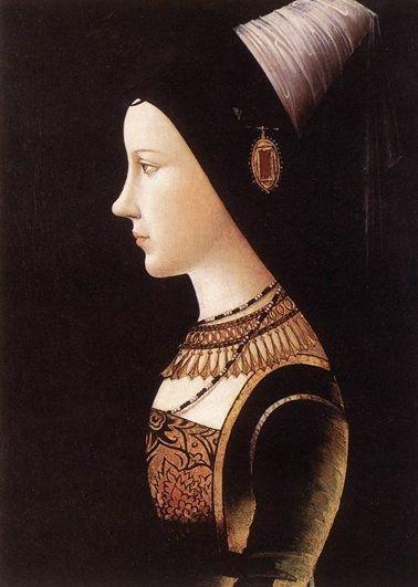 Małgorzata miała zaledwie dwa lata, gdy jej matka, Maria Burgundzka (na ilustracji), zginęła w wypadku (źródło: domena publiczna).