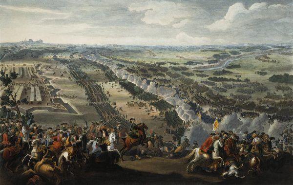 Bitwa pod Połtawą to z pewnością jedna z najważniejszych bitew w dziejach świata. Tu na obrazie Pierre'a-Denisa Martina.