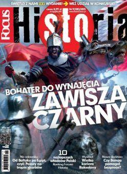 """Najnowszy numer """"Focusa Historia"""" już w kioskach. Polecamy!"""