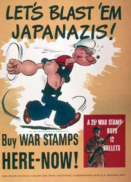Zniszczmy Japonazistów! (il. domena publiczna).