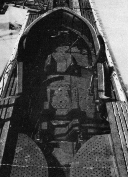 Pokład Leonarda da Vinci przygotowany do transportu liliputa (fot. domena publiczna).