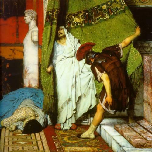 Tak Klaudiusz został cesarzem (źródło: domena publiczna).