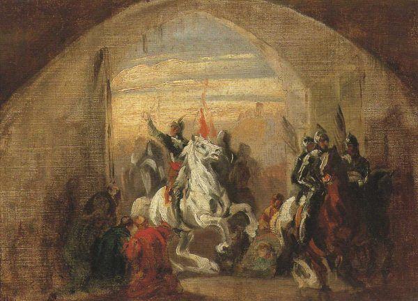 Czy Bolesław Chrobry zasłużył na kolejny przydomek: Łaskawy? (tu na obrazie Piotra Michałowskiego przedstawiającym wjazd do Kijowa),