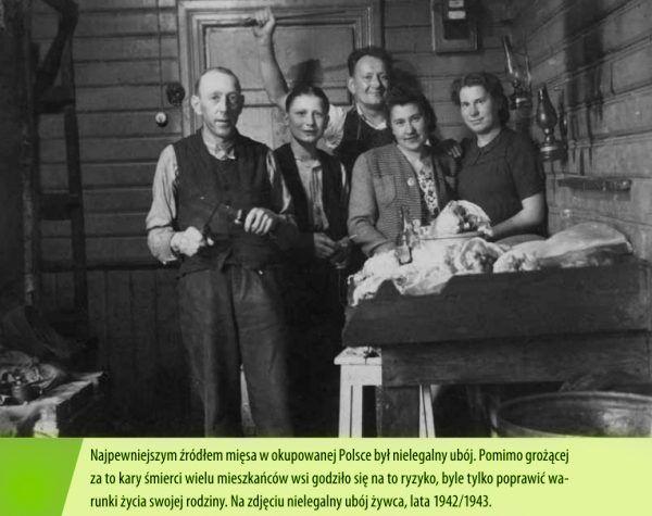 """(ilustracja z książki Aleksandry Zaprutko-Janickiej """"Okupacja od kuchni"""")."""