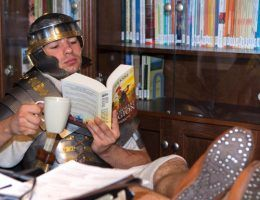Prawdziwi Rzymianie czytają Bena Kane'a!