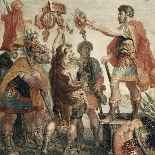 Życie w starożytnym Rzymie wcale nie było tak spokojne, jak postrzegał je autor tego obrazu Jacob Matthias Schmutzer.
