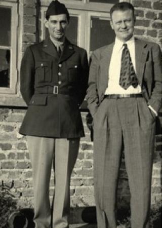 Earla Granta Harrison (z prawej), autor raportu w którym opisał tragiczny los dipisów (źródło: domena publiczna).