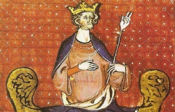 Król Francji Hugo I, założyciel dynastii Kapetyngów, miał nie lada problem, by znaleźć synowi małżonkę z królewskiego rodu (źródło: domena publiczna).