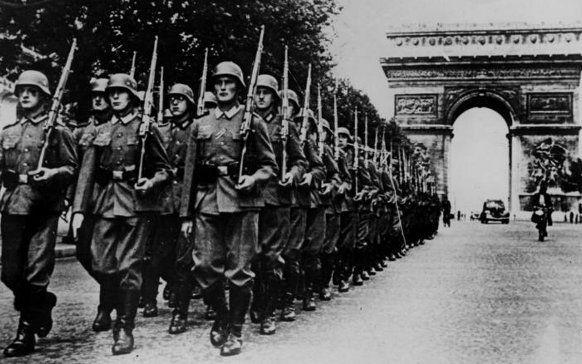 Sojusz ze Stalinem pozwolił Hitlerowi na wygranie wojny z Francją (źródło: domena publiczna).