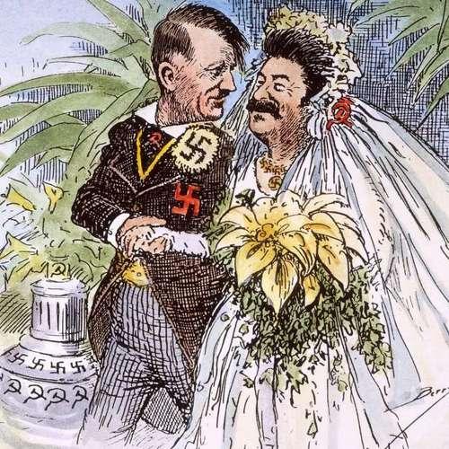 Kto bardziej skorzystał na układzie Ribbentrop-Mołotow? (źródło: domena publiczna).