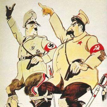 Rozwiązanie konkursu: Pakt diabłów. Kto bardziej skorzystał na układzie Ribbentrop-Mołotow? (źródło: domena publiczna).
