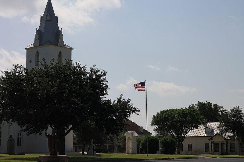 Pierwszy polski kościół w USA - świątynia pw. Niepokalanego Poczęcia NMP w Panna Maria - powstała już w 1856 r. z inicjatywy ojca Moczygemby (fot. Renelibrary, lic. CC BY-SA 3.0).