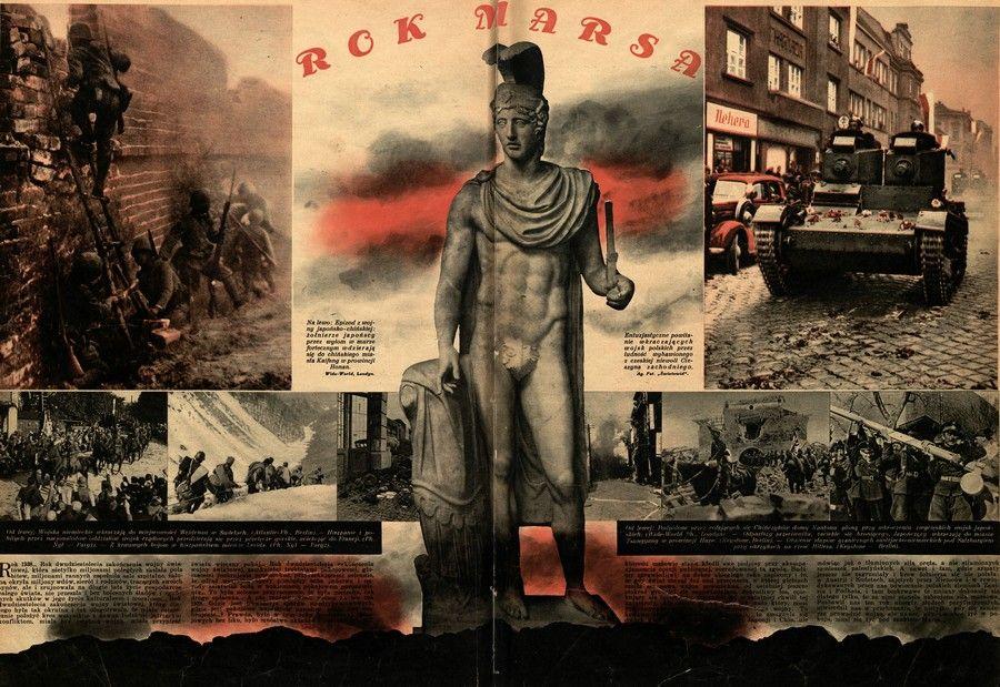 """Redakcja """"Światowida"""" niestety się nie pomyliła ogłaszając już w styczniu 1939 roku """"Rok Marsa"""". Miał on jednak potrwać tak naprawdę niemal sześć lat (źródło: domena publiczna)."""