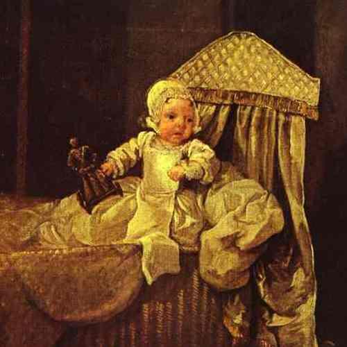"""Strach pomyśleć, jakby to dziecko zaraziło się ospą (fragment obrazu Williama Hogartha """"The Graham Children"""", domena publiczna)."""