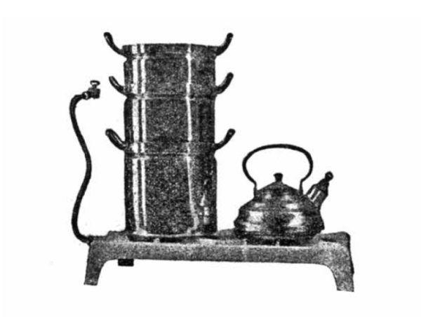 Gotowanie wieżowe było jednym ze sposobów oszczędzania.