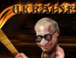 Gdy Ukraina zaczęła się wymykać, Putin nie zawahał się przed wznieceniem wojny (il. DonkeyHotey, CC BY 2.0).