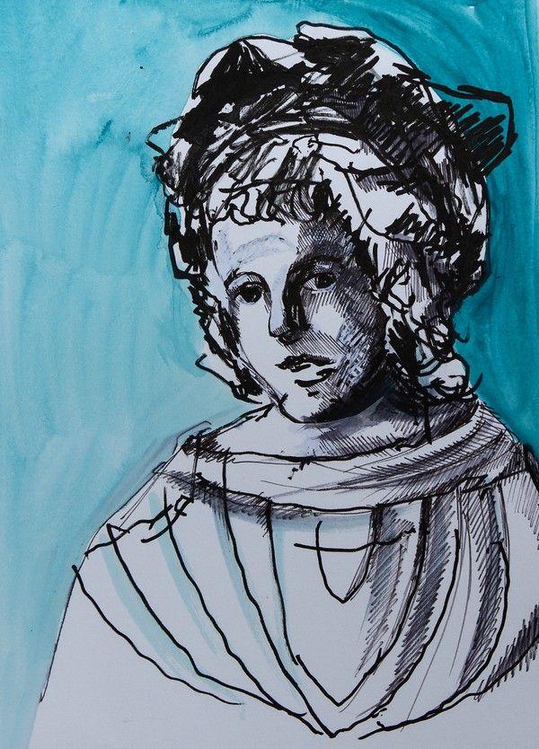 """Giovanni Sforza. Ilustracja pochodzi z książki """"Córka papieża"""", autor: Dario Fo we współpracy z Jessicą Borroni i Michelą Casiere."""
