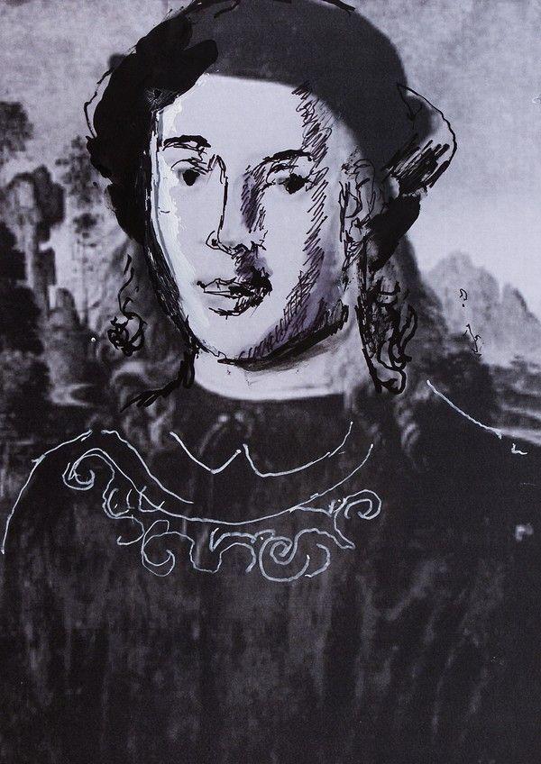 """Alfons Aragoński. Ilustracja pochodzi z książki """"Córka papieża"""", autor: Dario Fo we współpracy z Jessicą Borroni i Michelą Casiere."""