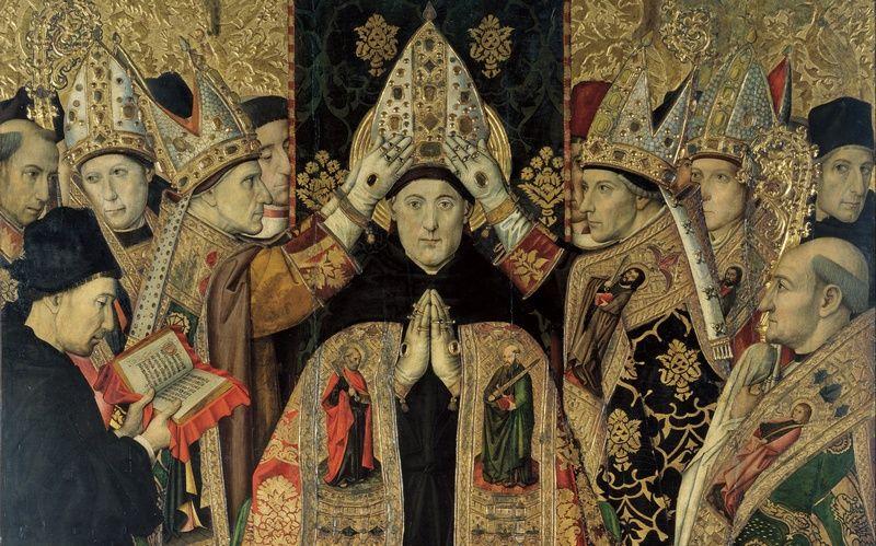 Konsekracja św. Augustyna z Hippony. Czyżby właśnie rozważał kwestie aborcji? (źródło: domena publiczna)