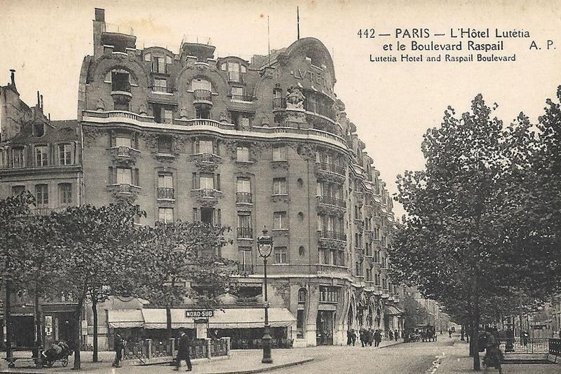 Paryski hotel Lutetia. To właśnie tam Niemcy wezwali Jean-Marie Loreta (źródło: domena publiczna).