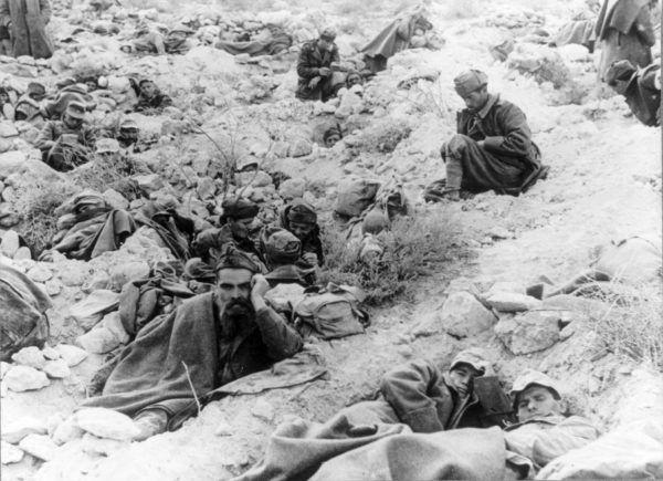 Jeńcy włoscy i niemieccy w Tobruku. Może wzięli ich do niewoli Polacy? (fot. ze zbiorów Biblioteki Kongresu USA, domena publiczna).