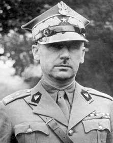 Gen. Stanisław Kopański, dowódca Samodzielnej Brygady Strzelców Karpackich (Fot. domena publiczna).