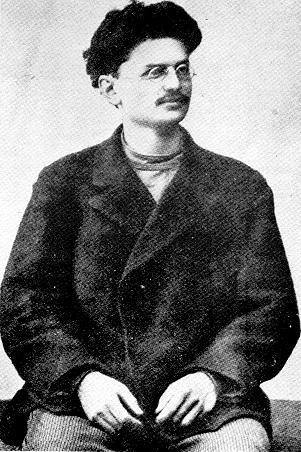 Lew Trocki przegrał walkę z pijaństwem tak jak i walkę ze Stalinem (fot. domena publiczna).
