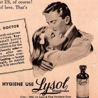 Lizol jako środek antykoncepcyjny? Na ten pomysł wpadli Amerykanie podczas Wielkiego Kryzysu (źródło: domena publiczna).