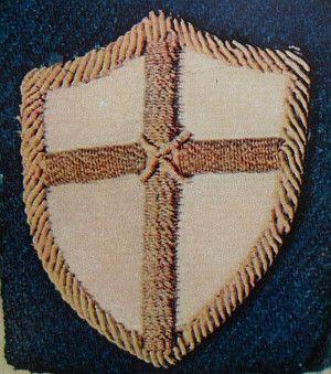Odznaka specjalna, nadana żołnierzom II Korpusu Polskiego po bitwie o Monte Cassino (fot. Jurek281, CC BY-SA 3.0).