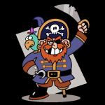 Piraci czasów rzymskich mieli niewiele wspólnego ze stereotypowym wyobrażeniem morskiego rozbójnika (rys. Attribution: J.J. at the English language Wikipedia, CC BY-SA 3.0).