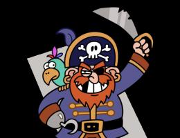 Piraci czasów rzymskich mieli niewiele wspólnego ze stereotypowym wyobrażeniem morskiego rozbójnika (rys. Attribution: J.J. at the English language Wikipedia, CC BY SA 3.0).