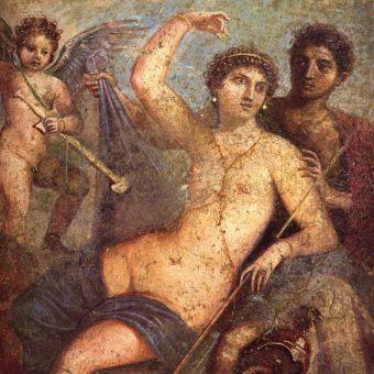 Mars i Wenery (fresk z Pompejów).