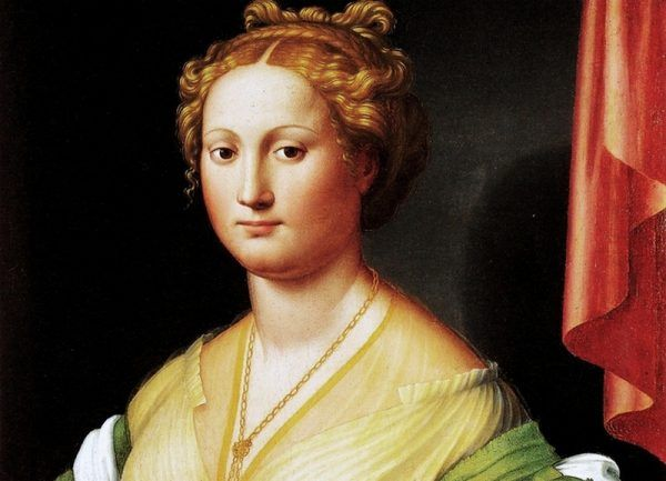 Vanozza Cattanei – matka czworga papieskich dzieci: Cezara, Juana, Jofre i Lukrecji. Obraz Innocenzo Francucci